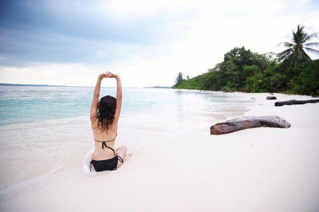 Snorkling White Sand Bintan
