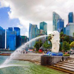 Merlion park Singapore Destinasi Wajib Dikunjungi Di Singapore