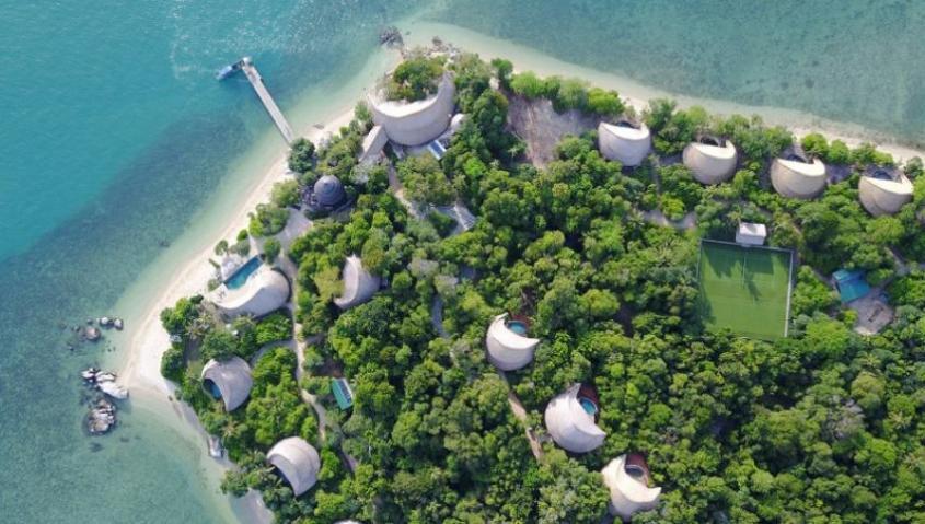 Pulau Cempedak Bintan Vila Resort